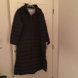 Calvin Klein Down /Feather Coat